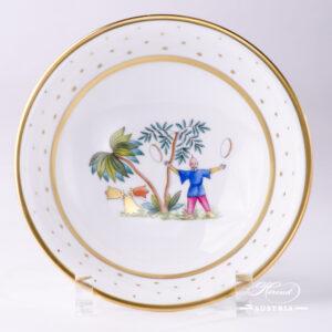 Oriental Showmen Bowl - 2334-0-00 FODOS - Herend Porcelain
