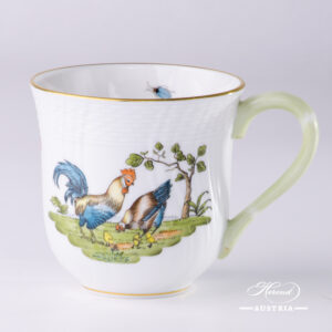 Rooster and Hen Milk Mug - 1729-0-00 GVL - Herend Porcelain