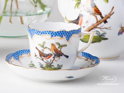Rothschild Birds Blue Fishnet Herend Sets – (RO-ETB)