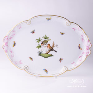 Rothschild Bird - Tray w. Ribbon