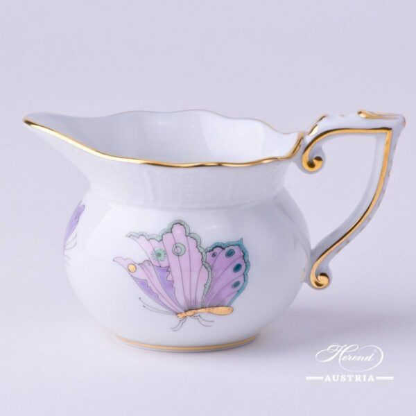Creamer 644-0-00 EVICTP2 Royal Garden Turquoise Butterfly pattern. Herend fine chinahand painted. Tableware