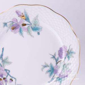 Royal Garden Turquoise - Dessert Plate