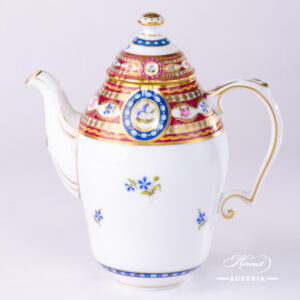 Silk Brocade Coffee Pot - 3560-0-15 EGAVT - Herend Porcelain