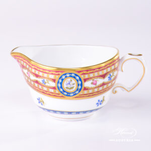 Silk Brocade Creamer - 3598-0-00 EGAVT - Herend Porcelain