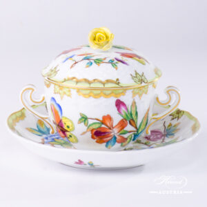 VICTORIA Soup Cup with Saucer - 1718-0-09 VICTORIA - Herend Porcelain