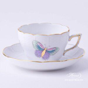 Royal Garden Turquoise - Tea / Coffee Cup
