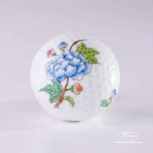 Flowers and Butterflies - Golf Ball