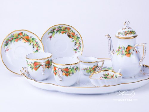 Christmas Decor – NOEL Herend Porcelain set