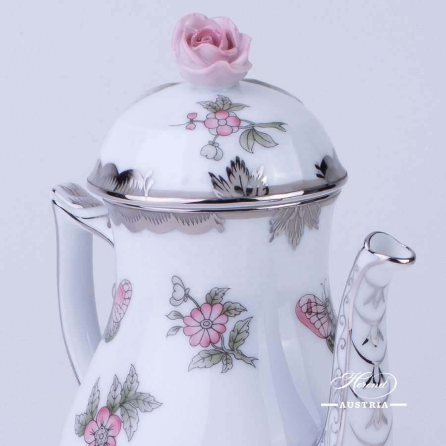 Queen Victoria Platinum - Coffee Pot