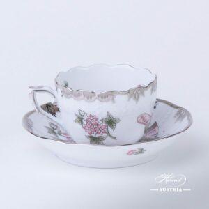 Queen Victoria Platinum - Coffee Cup