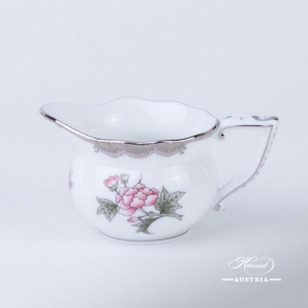 Creamer / Milk Jug 645-0-00 VBOG-X1-PT Queen Victoria Platinum pattern. Herend fine chinahand painted. Tableware