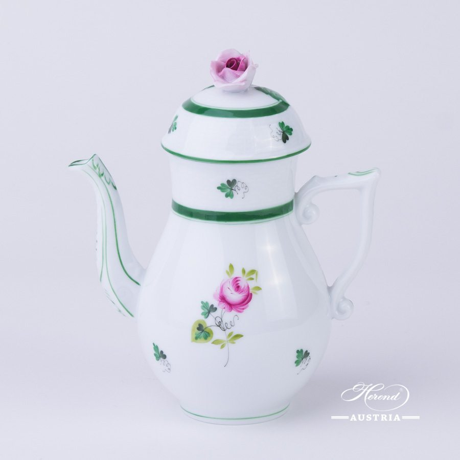 Vienna Rose - Coffee Pot w. Rose Knob