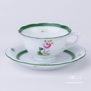 Vienna Rose-VRH or Habsburg Rose decor - Herend porcelain