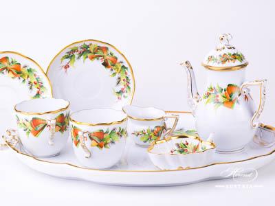 Christmas Decor – NOEL Herend Porcelain set