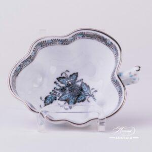 Apponyi-Turquoise Sugar Bowl - 492-0-00 ATQ3-PT - Herend-Porcelain