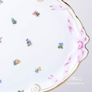 Thousand Flowers Ribbon Tray - 400-0-00 MF - Herend Porcelain