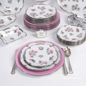 Queen Victoria Platinum - Dinner Set