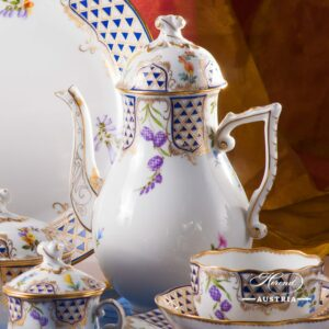 Mosaic and Flowers MTFC - Coffee Set