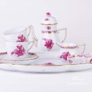 Apponyi Pink Coffee Set