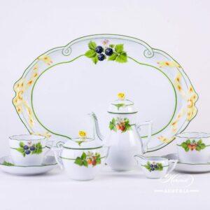 Bacci Fere Coffee set - BAC - Herend Porcelain