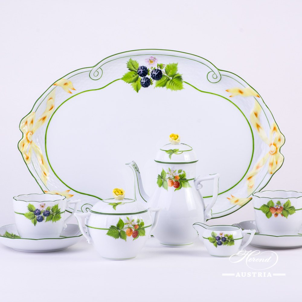 Bacci Fere Coffee set - BAC - Herend Porcelain