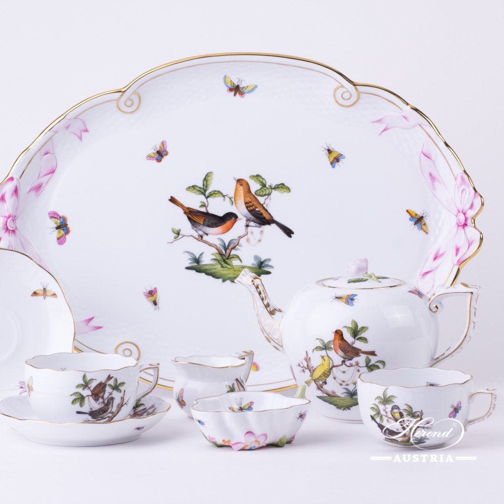 Rothschild Bird - Tea Set for 2 Persons