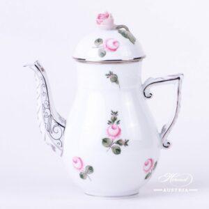 Vienna Rose Platinum Coffee pot