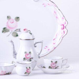 Vienna Rose Grand - Coffee Set