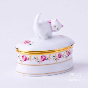 Rose Garland - Bonbonniere / Candy Jar