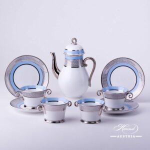 Orient Blue - Coffee Set for 4 Persons
