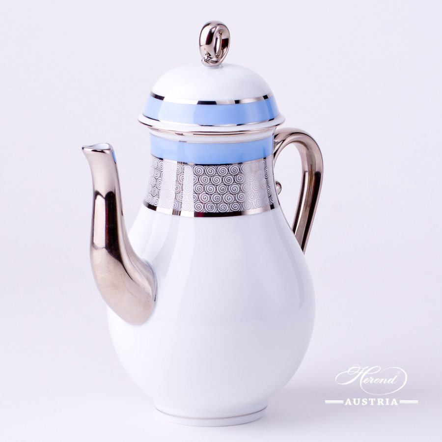 Orient Blue - Coffee Pot