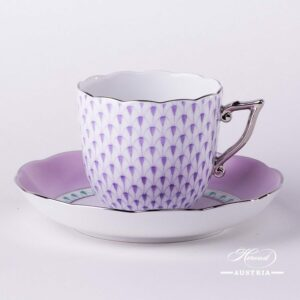 Fish Scale Lilac - Coffee Cup