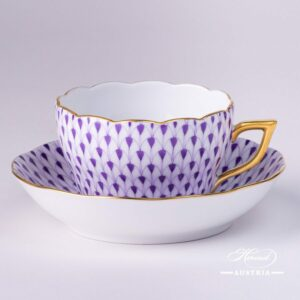 Fish Scale Lilac - Tea Cup