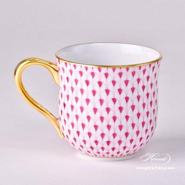 Universal Cup / Milk Mug 2739-0-00 VHP Purple Fish scale design. Herend fine china. Hand painted tableware. Modern pattern