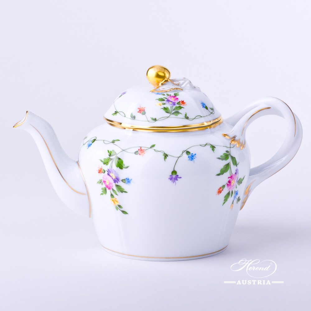 Imola Colored - Tea Pot w. Cherry Knob