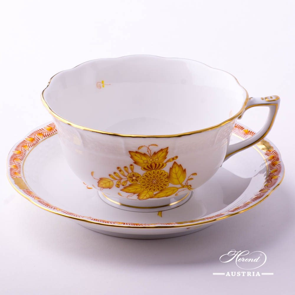 Apponyi - Chinese Bouquet Yellow Tea Cup 733-0-00
