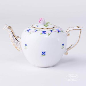 Tea Pot – Cornflower Garland of Herend - 606-0-09 PBG