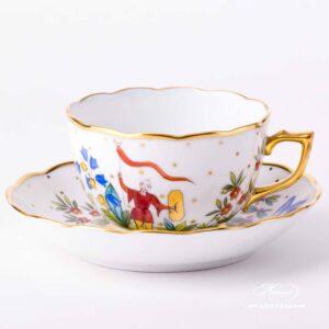 Tea Cup with Saucer - Oriental Showmen
