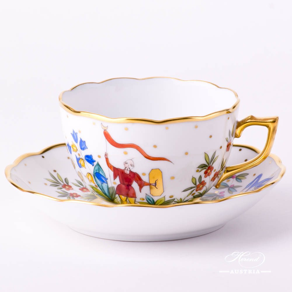 Tea Cup with Saucer - Oriental Showmen