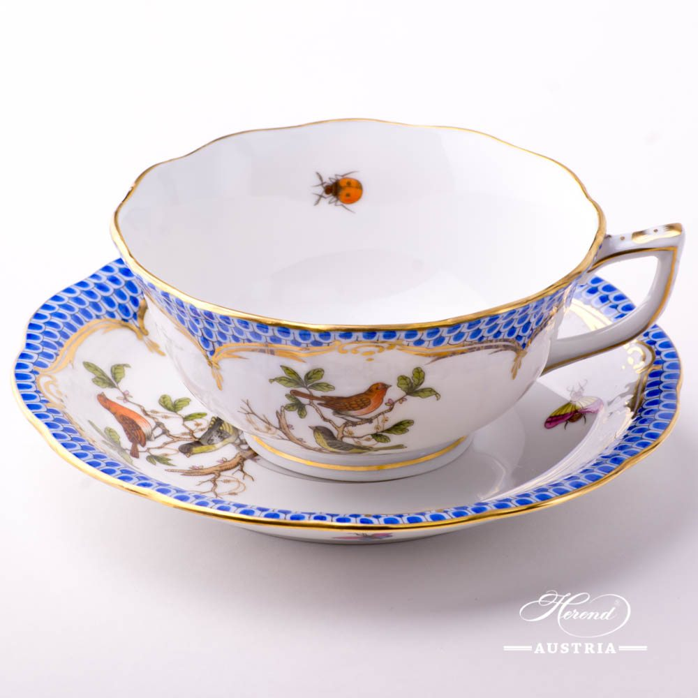 Rothschild Blue tea cup 734-0-00