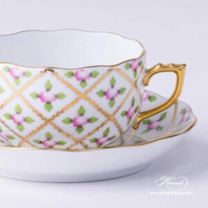 Tea Cup - Sevres Roses SPROG