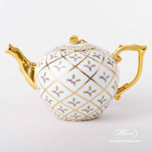 Sevres Roses - Tea Pot