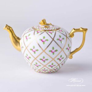 Sevres Roses - Tea Pot - Miniature