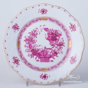 Indian Basket Purple - Dessert Plate