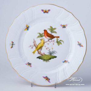 Rothschild Bird - Dinner Plate