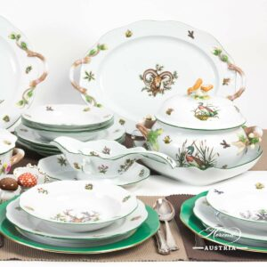 Hunter Trophies CHTM - Dinner Set for 6 Persons