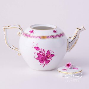 Tea Pot - Chinese Bouquet / Apponyi Purple