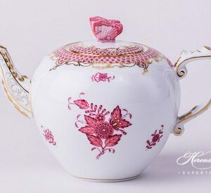 Tea Pot - Chinese Bouquet Purple