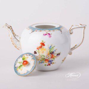Tea Pot - Fruits w. Fish Scale