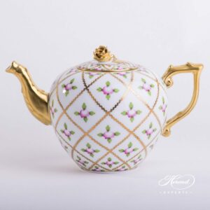 Tea Pot - Sevres Roses